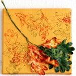Herfst in Park Vreugd en Rust 1Acryl en natuur op doek(2015)Afmeting: 20x20 cm