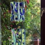 2 rechthoekige panelen glasfusion