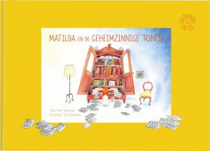 Matilda en de Geheimzinnige Tonen boek voorkant