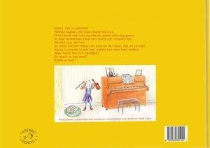 Matilda en de Geheimzinnige Tonen achterkant boek
